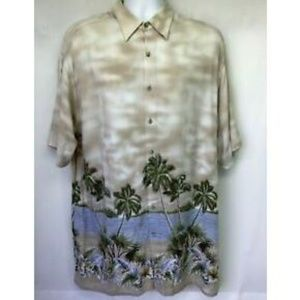 Pierre Cardin Hawaiian Short Sleeve Tropic XL